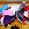 春です!オープンデーです!端革販売、靴ベラ作り、ワラーチ作り。見学自由。遊びに来てね〜