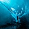 日本で見る!アイスランドの氷の洞窟
