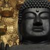 国を救うために、守るために建立された東大寺の大仏殿。泰然自若とした微笑で新年を迎えている。