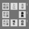 日本語書体三傑について