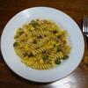 トウモロコシのパスタ④和風ソース