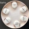 羊毛フェルト「シマエナガちゃんのクッキー」・クッキーホルダー 桃の花