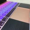 MacBookのキーボードカバー