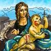 糸車の聖母?