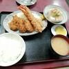 西川口の「あおき食堂」でエビフライとヒレカツ定食を食べました★