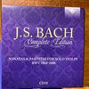 バッハ全集 全部聞いたらバッハ通 CD10 BWV1004-1006 無伴奏ヴァイオリンパルティータ