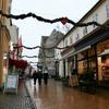 クリスマスの町並み デンマーク、オーベンロー
