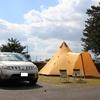 琵琶湖畔でまったりキャンプ@マイアミ浜オートキャンプ場