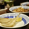 豊洲の「米花」でやりいか煮、鶏つくねとレバーの煮込み、ヤナギムシガレイの一夜干し。