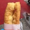 【食べ物紹介】油条(中国式揚げパン)3元
