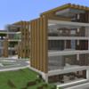 【Minecraft】駅前に商業施設を建てる2 【コンパクトな街をつくるよ5】
