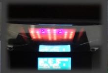 LEDサウンドレベルメーターの自作。RGB LEDのWS2812Bをナイトライダー風に光らせる