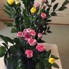 お稽古の花