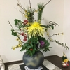 正月の花を活ける