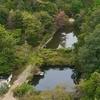 大日本帝国陸軍 毒ガス研究室跡の池(広島県竹原)