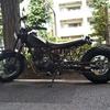 #バイク屋の日常 #ヤマハ #TW200 #ロングスイングアーム #30cmロング #完成