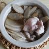48冊目『〆まで楽しむおつまみ小鍋』から5回めは豚バラとごぼう、大根の焼酎鍋