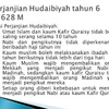 Sebutkan Isi Perjanjian Hudaibiyah 1 dan 2 Antara Rasul dengan Kafir Quraisy