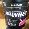 【プロテインレビュー】ALLMAX Nutrition All Whey Classic(ストロベリー)