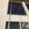 吹き抜け窓の掃除