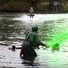 ジェットベイターでスピーダー・バイクを再現!デビン・グラハムの『Star Wars - Speeder Bike Jetovator Battle in Real Life! 』。