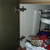 システムキッチンの扉の修理