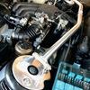 BMW E30【スタイルアップFile 17】ストラットタワーバー変更。