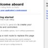 Railsで簡単なアプリケーションを作る
