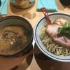 煮干麺 月と鼈で濃厚煮干つけ麺(新橋)