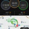 30km走 in 駒沢公園