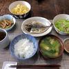 旅行後の恵みの食卓