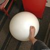 尻の筋肉を鍛えるのにストレッチボール
