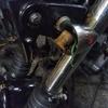 #バイク屋の日常 #悲報 #カワサキ #250TR #ウィンカー #逝く #サビサビ