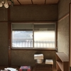 窓のサッシを黒に塗ってみた その1