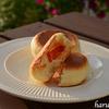 フライパンで、パニーニみたいなピザ風パン☆