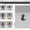 Unity 無料でたくさんのキャラクターとアニメーションを取得する方法。 Unity学習24