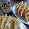 十条「王華」で、昼から餃ビー!の幸せ  #ガンダムスタンプラリー