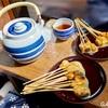 京都グルメぐり【白味噌ときなこが最高!!・かざりやのあぶり餅】