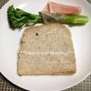 全粒粉入り山型パン、○○のパンに負ける。