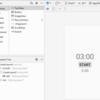 Calenderクラスを使用した簡易なカウントダウンタイマー&ストップウォッチ