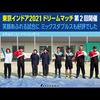 「東京インドア2021ドリームマッチ」第2回を開催しました! ミックスダブルスも好評!!
