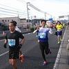 高知龍馬マラソン2018、チーム丸三のメンバーが爆走中です!