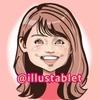 iPadProで描いた フジテレビ宮澤智アナウンサーの似顔絵。動画なし。