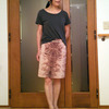 クールにコーデする夏のアニマル柄スカート