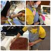 彩豆さんのバレンタインロールケーキ教室