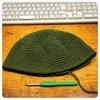 ワッチとかいう帽子を編んでみたの。
