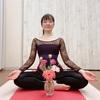 ヨガレッスンと花瞑想