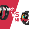 Xiaomi Mi watch LiteとApple Watch Series3を徹底比較!【Mi Watch Lite】【Apple Watch】