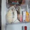 【冷蔵庫内の収納2】ブックエンドで粉物を独立させる