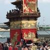 ユネスコ無形文化遺産 亀崎潮干祭の山車行事 亀崎潮干祭(海浜曳き下ろし)に行ってきた